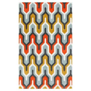 Surya Cosmopolitan Orange/Red Area Rug