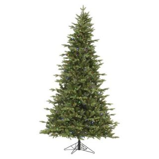 ft. Balsam Fir LED Pre lit Artificial Christmas Tree  Multi Color