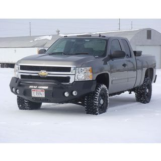 Road Armor Stealth Base Front Bumper With Pre Runner Guard 2008 2010 Chevy HD 2500/3500