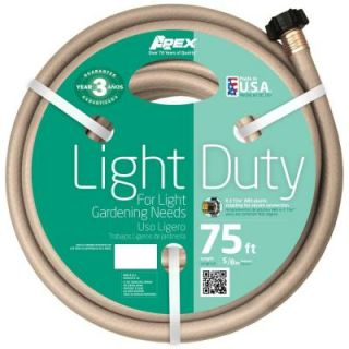 Apex 5/8 in. Dia x 75 ft. Light Duty Water Hose 8400 75