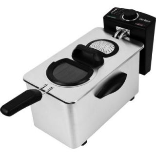 Chef Buddy 3.5 l Electric Deep Fryer Stainless Steel 82 DF35