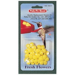 Perky Pet Small Hummingbird Feeder Flowers in Yellow