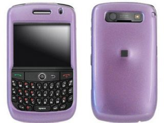 Hard Plastic Light Purple Phone Protector Case For BlackBerry Curve 8900