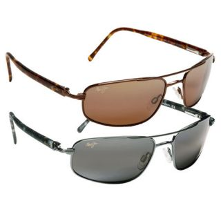 Maui Jim Kahuna Sunglasses   Gunmetal Frame with Neutral Grey Lens