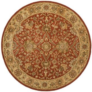 Safavieh Lyndhurst Collection Ivory/ Rust Rug (8 Square)