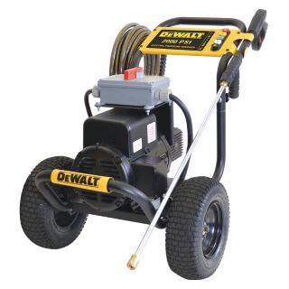 DEWALT Commercial Grade Electric Pressure Washer, 4 HP, Cold Water Type, 2000 psi Operating Pressure, 3.0 G   Electric Pressure Washers   38GL63|DXPW2000E