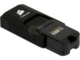 Corsair Flash Voyager Slider USB 3.0 16 GB, Capless Design, Read 200 MBs, Plug and Play (CMFSL3B 16GB)