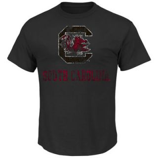 South Carolina Gamecocks Majestic Always Admired T Shirt   Charcoal
