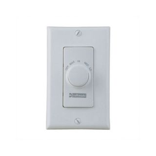 Four Speed Ceiling Fan Remote Wall Control in Almond
