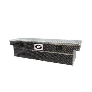 Tradesman 71 in. Aluminum Cross Bed Truck Tool Box TALF591BK University of Georgia
