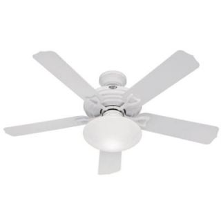 Hunter Beaufort 52 in. Indoor/Outdoor White Ceiling Fan DISCONTINUED 23697