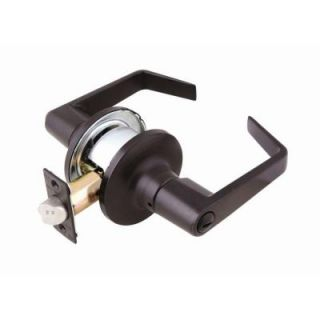 Design House C Series Commercial Grade Brushed Bronze Privacy Lever 701938