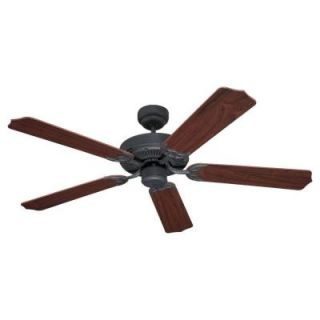 Sea Gull Lighting Quality Max 52 in. Weathered Iron Ceiling Fan 15030 07