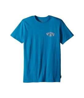 Billabong Kids Arched T Shirt (Big Kids) Bright Blue