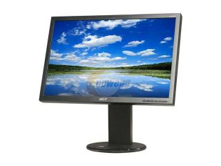 "Acer B193WGJbmdh Black 19"" 5ms Height Adjustable Widescreen LCD Monitor 250 cd/m2 ACM 50000:1(1000:1) Built in Speakers"