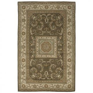 Jubilee Hand Tufted Ivory, Beige and Green Rug   8' x 10'   6671492
