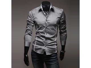 High quality fashion men shirt plus size casual tops hot sale