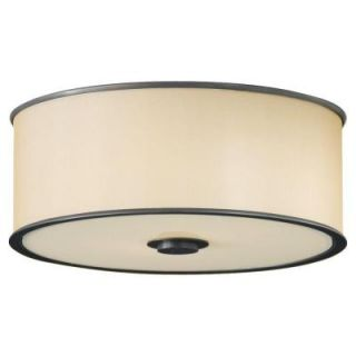 Feiss Casual Luxury 2 Light Dark Bronze Indoor Flushmount FM291DBZ