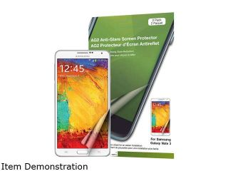 Green Onions Supply AG2 Anti Glare Screen Protector for Samsung Galaxy Note III/3 (2 Pack) RT SPSGN30