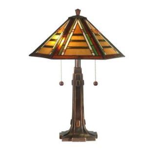 Radionic Hi Tech Tentelle 22.00 in. Golden Sand Hand Rolled Art Glass Table Lamp DT_TL_TT11049_RHT