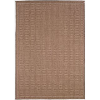 Recife Saddle Stitch Cocoa Rug (86 x 13)
