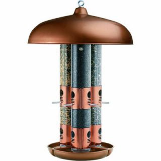Perky Pet Copper Triple Tube Bird Feeder