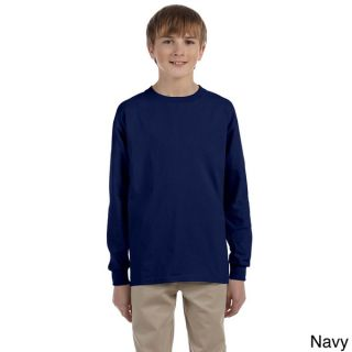 Gildan Youth Ultra Cotton 6 ounce Long Sleeve T shirt   16294863