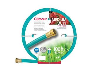 "Gilmour 5/8"" x 100'  4 Ply Medium Duty Garden Hose"