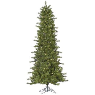 Vickerman 6.5 x 38 Prelit Slim Ontario Spruce Artificial Christmas