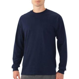 New Fruit of the Loom Big Men's Long Sleeve Crew Tee