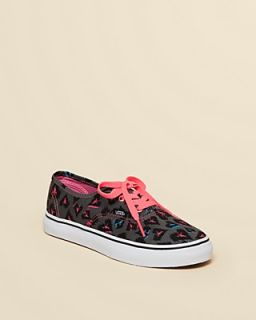 Vans Girls' Animal Print Canvas Sneakers   Toddler, Little Kid, Big Kid