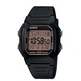Casio Mens Calendar Day/Date Sport Watch with Tan Digital Dial and