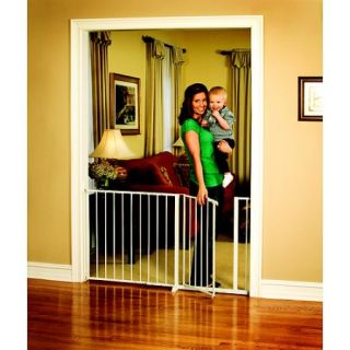 Regalo 59 Inch Super Wide Walk Through Baby Gate, Hardware Mount