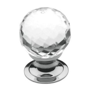 Baldwin 1 3/16 in. Polished Chrome Round Cabinet Knob 4318.260