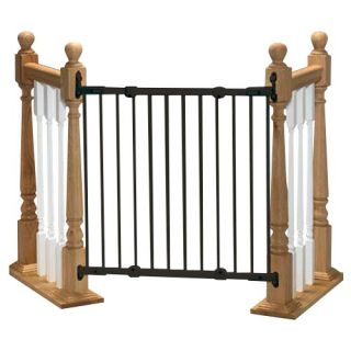 KidCo Angle Mount Safeway Wall Mounted Gate, Black