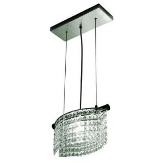 BAZZ Glam Helix Collection 1 Light Hanging Pendant DISCONTINUED LU5001CC