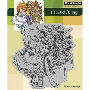 Penny Black Cling Rubber Stamp 5X6 Thanks A Bunch   Home   Crafts