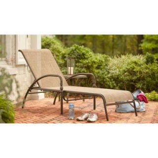 Hampton Bay Andrews Patio Chaise Lounge FLS67028