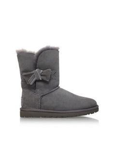 UGG Jasmine fur lined boots Light Grey
