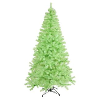 Vickerman 7 Green Chartreuse Artificial Christmas Tree with 500 Green