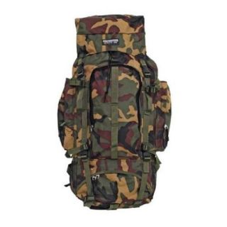 "MI4162 Heavy Duty Backpack Approximately 30"" X 15"" X 7 Heavy Camouflage Nyl"