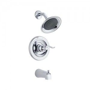 Delta 144996 Windemere Monitor 14 Series Tub & Shower Trim   Chrome