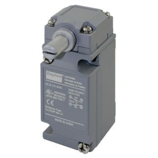 DAYTON Heavy Duty Limit Switch, 600VAC/DC Voltage Rating, 10 Amps, Side Actuator Location   Limit / Interlock Switches   12T897|12T897