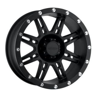 Pro Comp Alloy Wheels   Series 7031, 20x9 with 6 on 5.5 Bolt Pattern   Flat Black