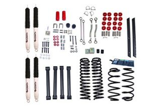 2003 2006 Jeep Wrangler Lift Kits   ORV 18415.41   ORV Complete Jeep Lift Kits