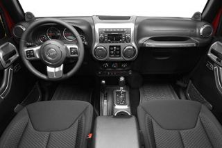 2011 2016 Jeep Wrangler Molded Dash Kits   Rugged Ridge 11157.91   Rugged Ridge Interior Trim & Dash Kits