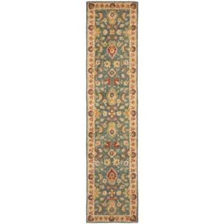 Safavieh Antiquity Blue/Beige 2 ft. 3 in. x 8 ft. Runner AT15A 28