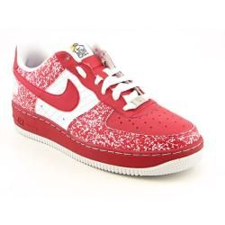 Nike Youth Kids Boyss Air Force 1 Red Athletic