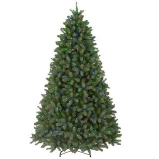 10 ft. Feel Real Downswept Douglas Fir Artificial Christmas Tree with 1000 Multi Color Lights PEDD4 325 100