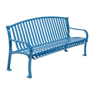 Northgate Metal Bench by Leisure Craft